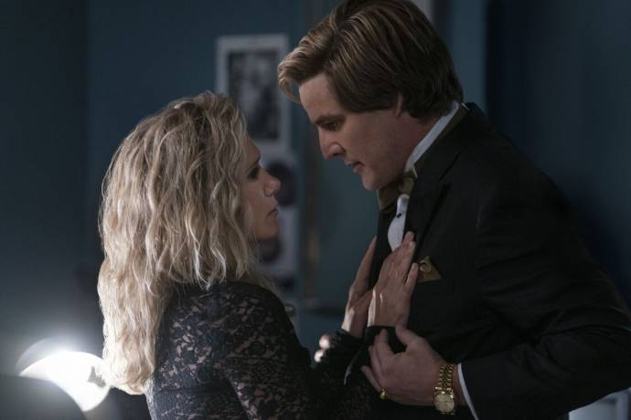 Kristen Wiig (Barbara Minerva / Cheetah) en Pedro Pascal (Max Lord)