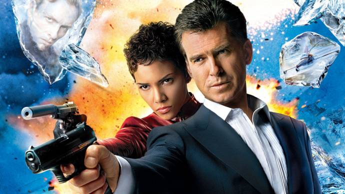 Halle Berry (Jinx) en Pierce Brosnan (James Bond)