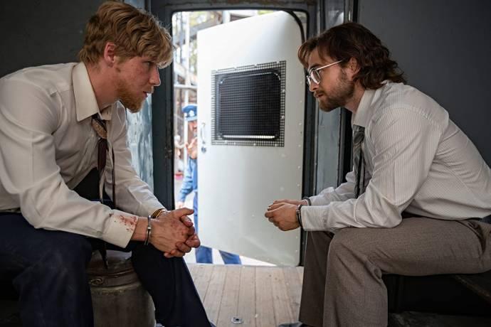 Daniel Webber (Stephen Lee) en Daniel Radcliffe (Tim Jenkin)