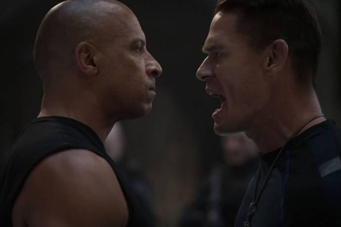 Vin Diesel (Dominic Toretto) en John Cena (Jacob Toretto)