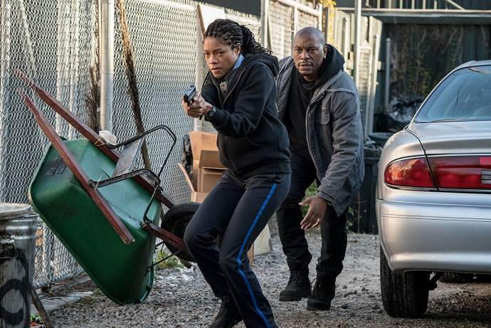 Naomie Harris (Alicia West) en Tyrese Gibson (Milo 'Mouse' Jackson)