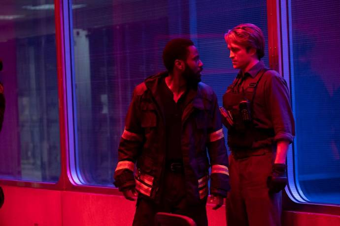 John David Washington en Robert Pattinson in Tenet