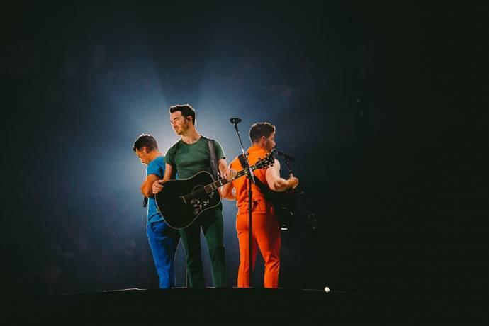 Kevin Jonas (Self), Joe Jonas (Self) en Nick Jonas (Self)