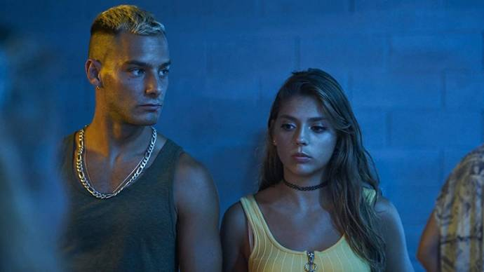 Joel Bosqued (Néstor) en Carmen Arrufat (Lis)