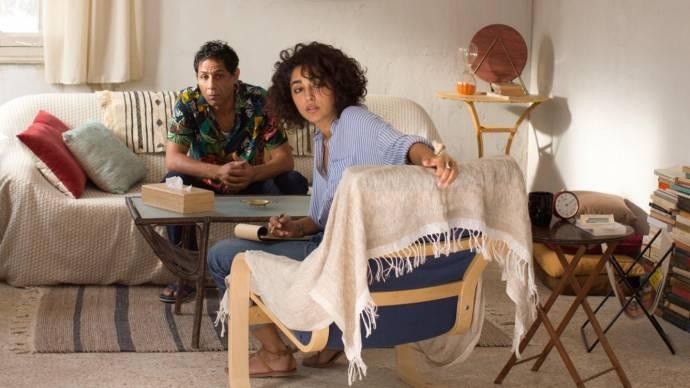 Hichem Yacoubi (Raouf) en Golshifteh Farahani (Selma)