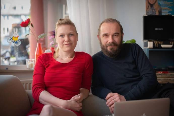 Lore Dijkman en Michel Sluysmans