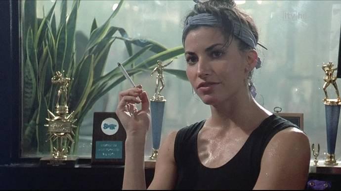 Gina Gershon (Cat Manzetti)