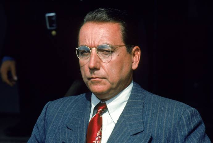Bob Gunton (Warden Norton) in The Shawshank Redemption