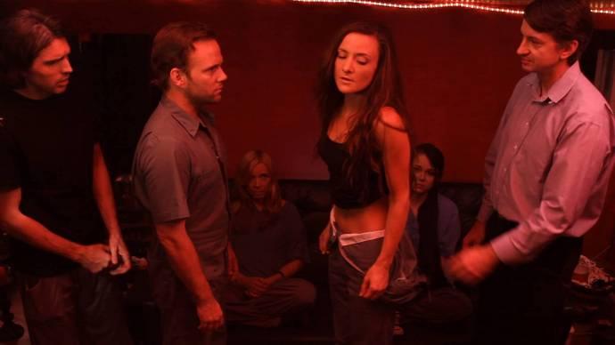 Andy Gates (Spencer), Jason Johnson (Jacob), Tamzin Brown (Ursa) en Amanda Yael Eisley (Grace (as Amanda Poliakin))