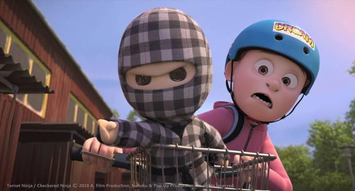 De Wraak van de Ninja (NL) filmstill