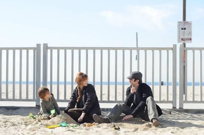 Aiden Lovekamp (Marco), Ahna O'Reilly (Olivia) en Wes Bentley (Daniel)