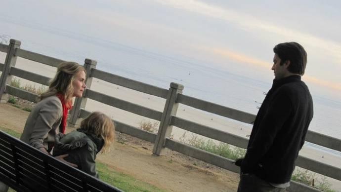 Sarah Paulson (Sarah), Mila Brener (Winona) en Wes Bentley (Daniel)