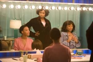 De dreamgirls (Beyoncé Knowles, Anika Noni Rose en Jennifer Hudson)
