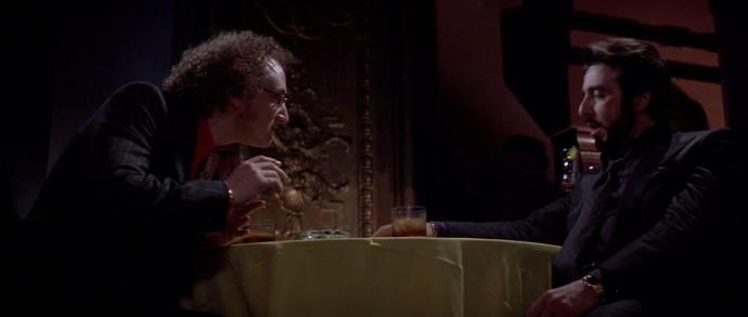 Sean Penn (Kleinfeld) en Al Pacino (Carlito)