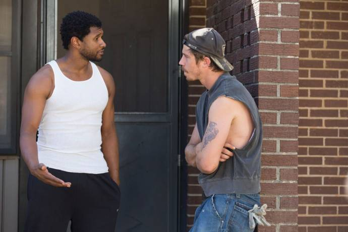 Usher Raymond (Clarence Brooks) en Garrett Hedlund (Mike Burden)