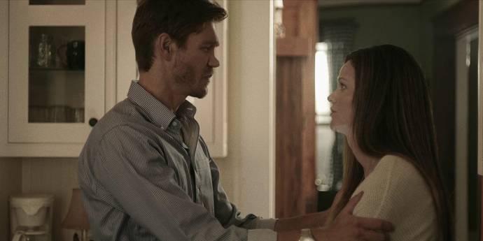 Chad Michael Murray (Rich) en Lydia Hull (Jan)