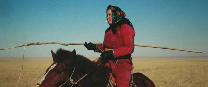 Dulamjav Enkhtaivan (Herdswoman)