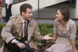 Will Ferrell (Harold Crick) en Maggie Gyllenhaal (Ana Pascal)