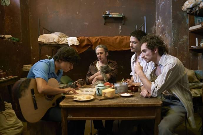 Juan Carlos Maldonado (Jaime 'El Príncipe'), Alfredo Castro (Potro) en Nicolás Zárate