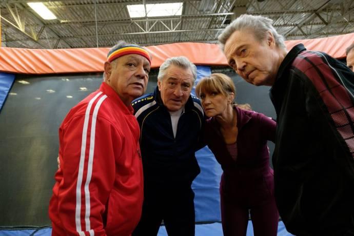 Cheech Marin (Danny), Robert De Niro (Ed), Jane Seymour (Diane) en Christopher Walken (Jerry)