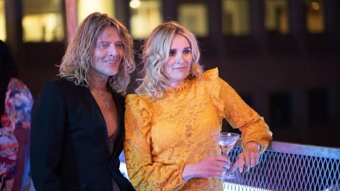 Tygo Gernandt (Marco) en Lieke van Lexmond (Roos)
