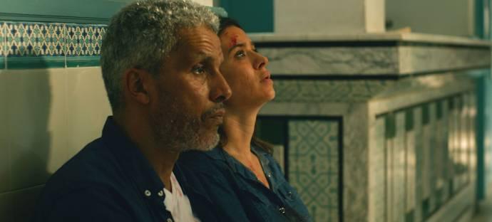 Sami Bouajila (Fares Ben Youssef) en Najla Ben Abdallah (Meriem Ben Youssef)