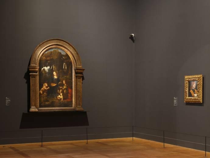 A Night at the Louvre, Leonardo Da Vinci filmstill