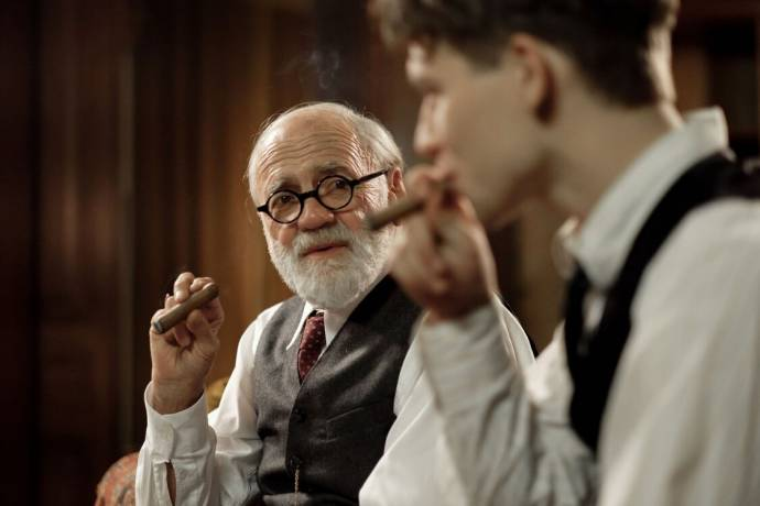 Bruno Ganz (Prof. Sigmund Freud) in The Tobacconist