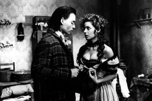 Johnny Depp en Mili Avital