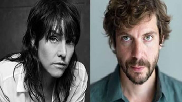Wende Snijders (Connie Palmen 4 afleveringen) en Ramsey Nasr (Ischa Meijer 4 afleveringen)