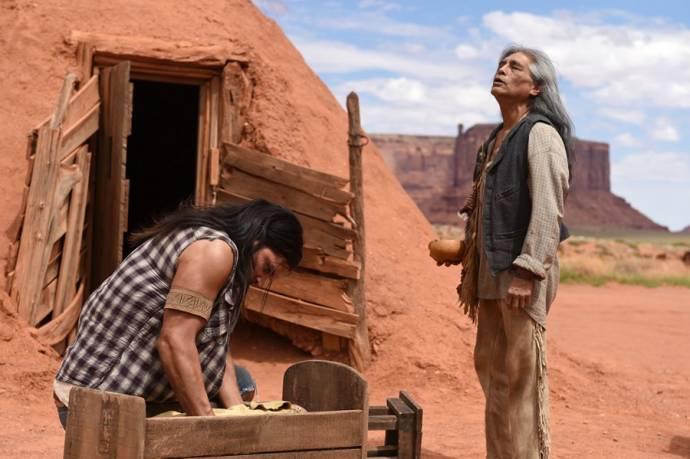 Joseph Runningfox (Third Eye) en Steven Skyler (Grey Horse)