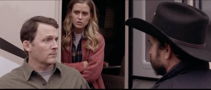 Lucas Bentley (Stanley), Lily Anne Harrison (Janet) en Jason Patric (Sheriff Baker)