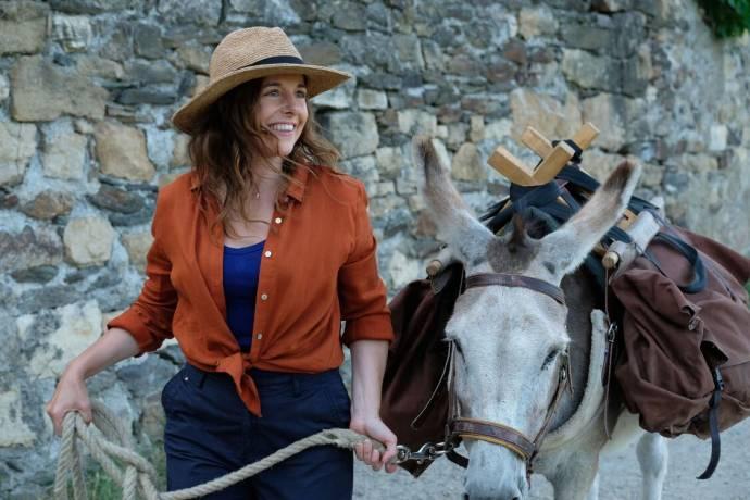 Laure Calamy (Antoinette Lapouge) in Antoinette dans les Cévennes