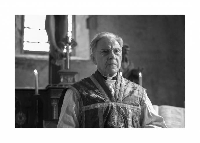Harvey Keitel (Priest) in The Painted Bird