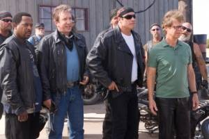Martin Lawrence, Tim Allen, John Travolta en William H Macy in Wild Hogs
