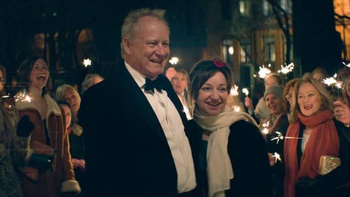 Stellan Skarsgård (Tomas) en Andrea Bræin Hovig (Anja)