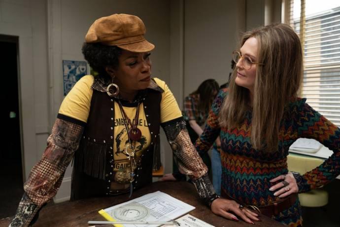 Lorraine Toussaint (Flo Kennedy) en Julianne Moore (Gloria)