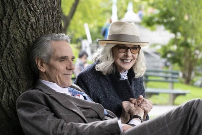 Jeremy Irons en Diane Keaton in Love, Weddings & Other Disasters