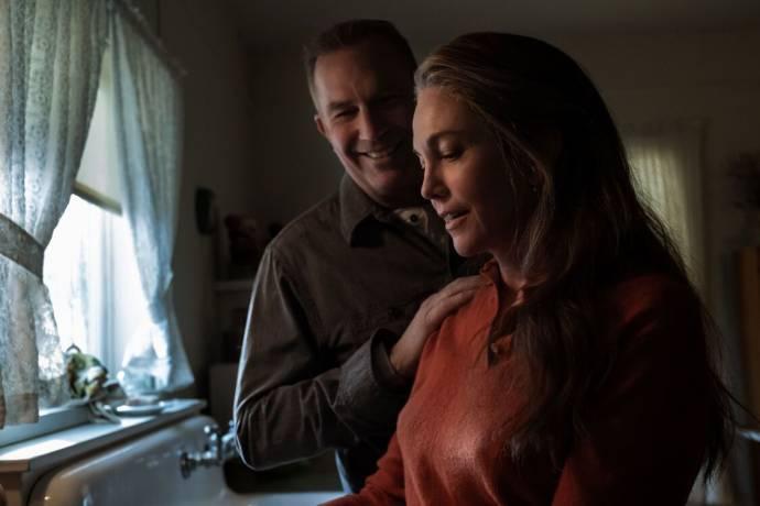Kevin Costner (George Blackledge) en Diane Lane (Margaret Blackledge)