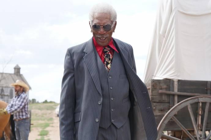 Morgan Freeman (Reggie Fontaine)