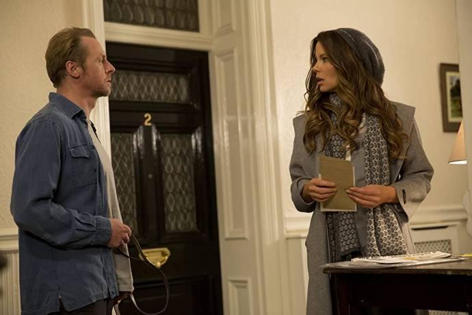 Simon Pegg (Neil) en Kate Beckinsale (Catherine)