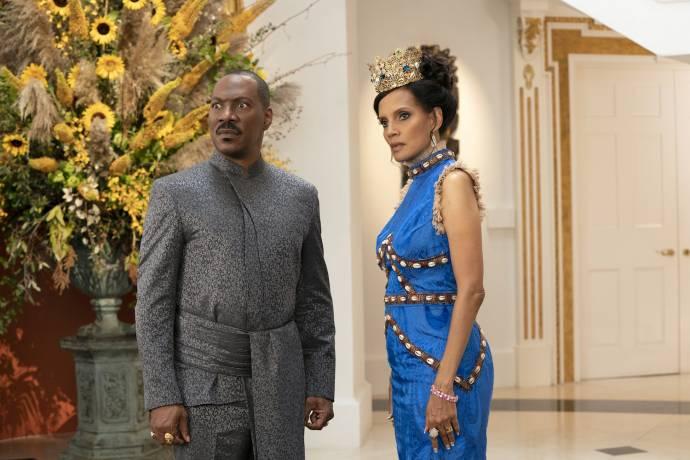 Eddie Murphy (Akeem / Randy) en Shari Headley (Lisa McDowell)
