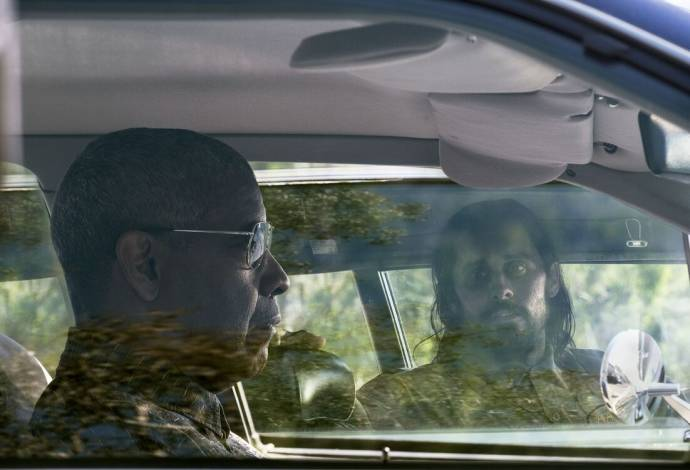 Denzel Washington (Joe 'Deke' Deacon) en Jared Leto (Albert Sparma) in The Little Things