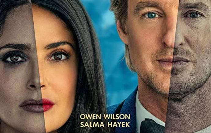 Salma Hayek (Isabel) en Owen Wilson (Greg)