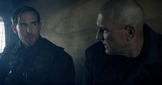 Sam Benjamin (Shapiro) en Vinnie Jones (Sean Teague)