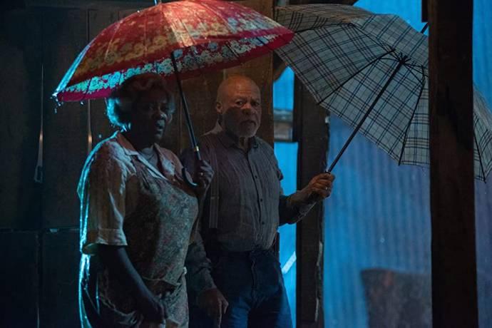 Loretta Devine (Eloise) en John Beasley (Earl)