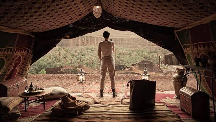 Serinda Swan (Kate Paxton) in Redemption Day