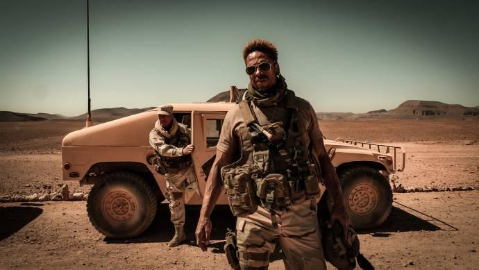 Gary Dourdan (Brad Paxton) in Redemption Day