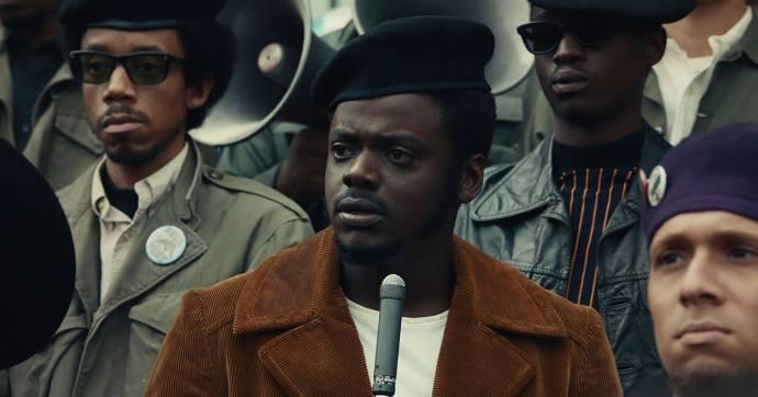 Daniel Kaluuya (Fred Hampton) in Judas and the Black Messiah