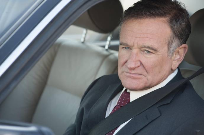 Robin Williams (Henry Altmann) in The Angriest Man in Brooklyn